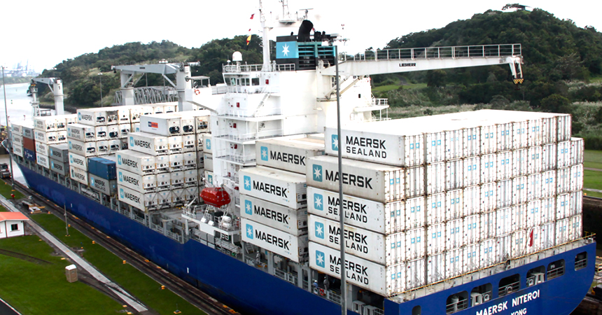 Conducting field research at the Panama Canal